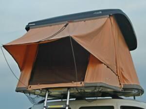 Auvent sur tente Hussarde