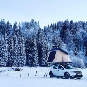 Tente Hussarde NaïtUp par temps froid
