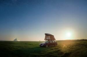 Tente de toit NaïtUp dans la nature