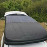 Tente de toit sur véhicule aménagé